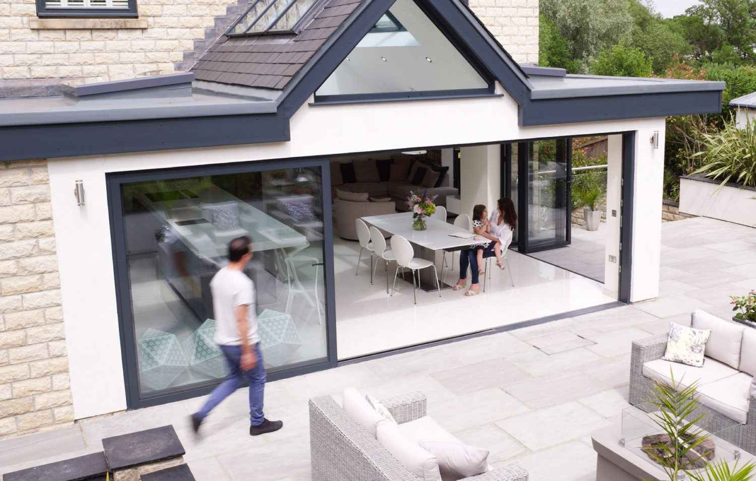 Express Bi Folding Doors Bespoke Aluminium Windows Doors